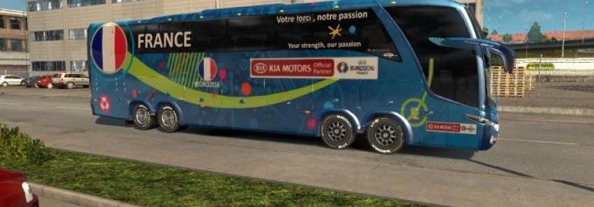 Rewind Bus Marcopolo G7 1600LD Group A Teams Official Buses