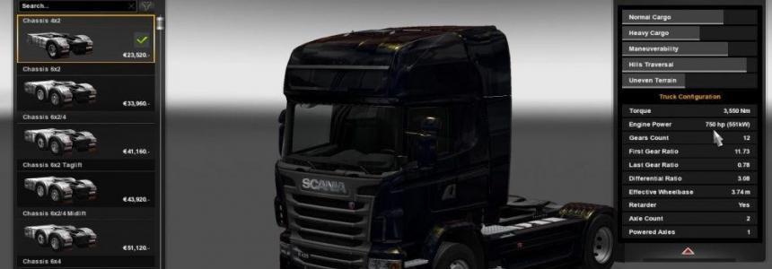 Scania 750 work in Multi v1.0