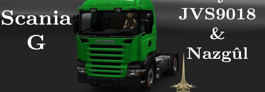 Scania G Modifications v1.1 - Updated by Nazgul