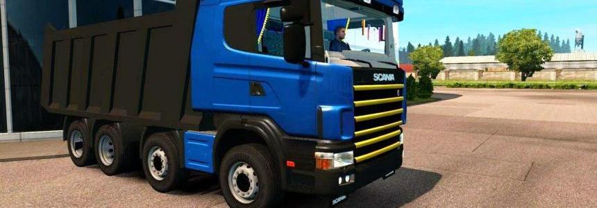 Scania Kapitel (Dumper Truck) v1.0 (1.27.x)