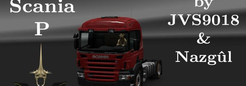 Scania P modifications v1.1 by jvs9018 and Nazgul