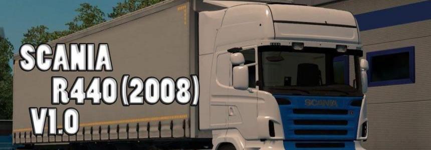 Scania R440 v1.0 Krone Mega Liner