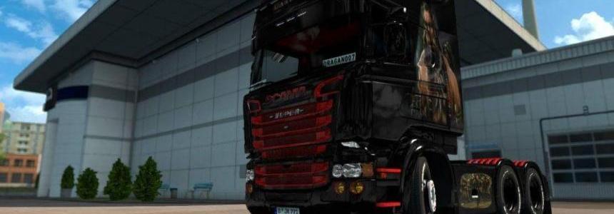 Scania RJL Warcraft Skin