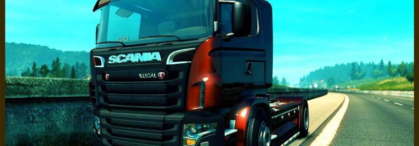 Scania V8 Illegal Reworked R&S v9.0.1 (1.27.x)