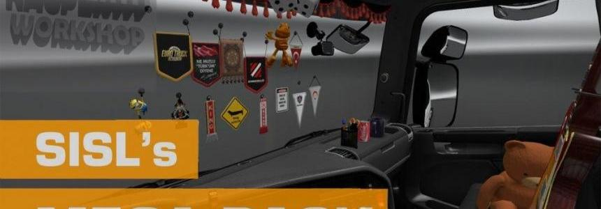 Sisl's Mega Pack Addon for Scania P Modifications