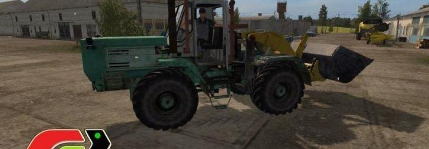 T-150K with loader ТО-25 v1.5
