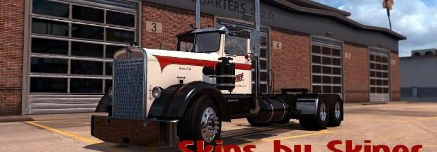 The Chief Freight Lines skin for Kenworth Needle nose v2.0