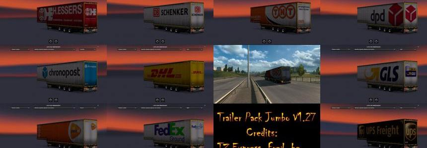 Trailer Pack Jumbo V1.27 [ Replace ] 1.27.Xs