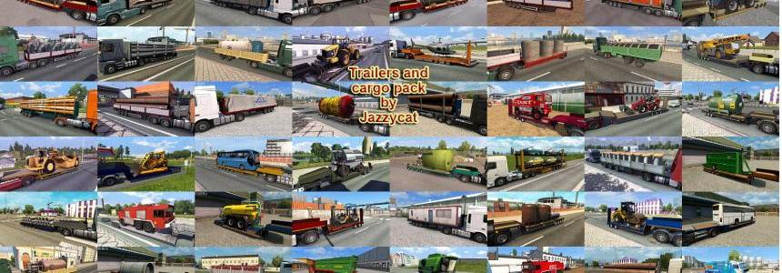 Trailers and Cargo Pack by Jazzycat v5.0