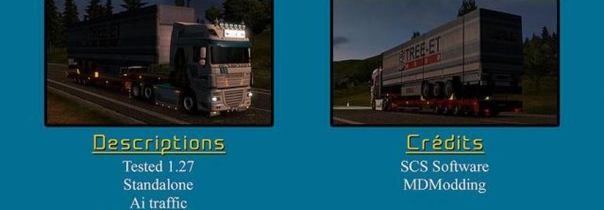 Transport trailer schmitz 1.27