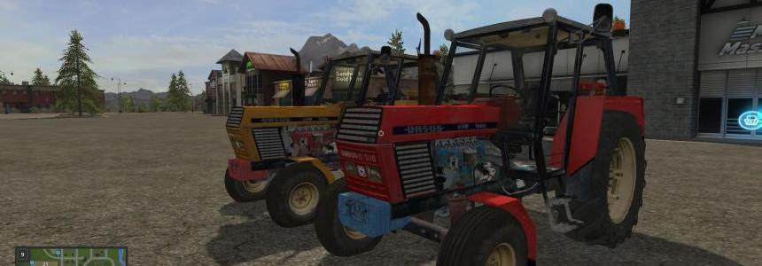 URSUS C-3110 Farming simulator 17 v1.0