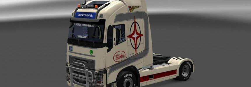 Volvo FH16 2013 Dutch Trucker skin 1.27