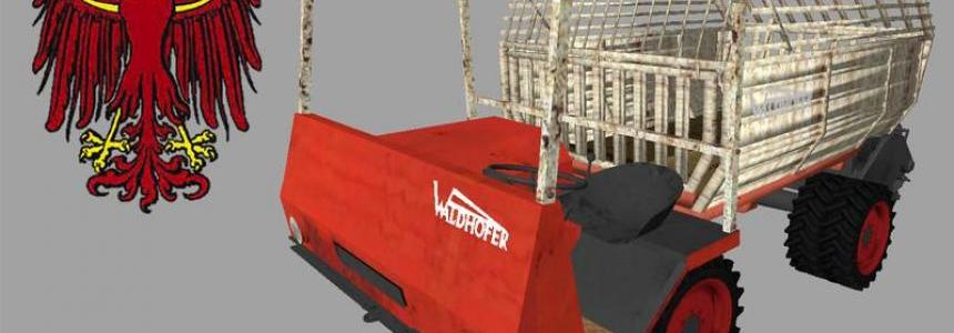 Waldhofer D22 with loading wagon v1.0