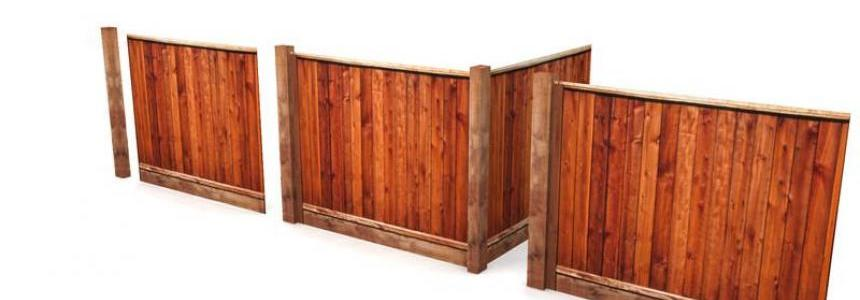 Wood fence pack v1.1