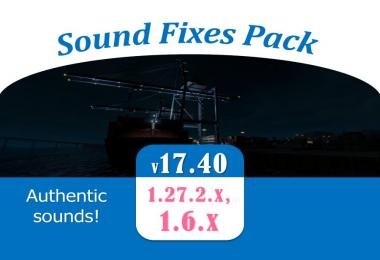 Sound Fixes Pack v17.40