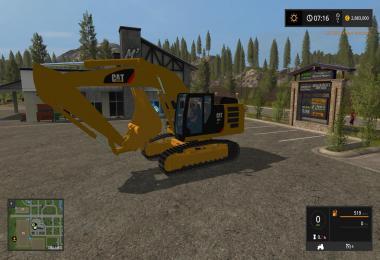 Caterpillar 329E excavator v1.0