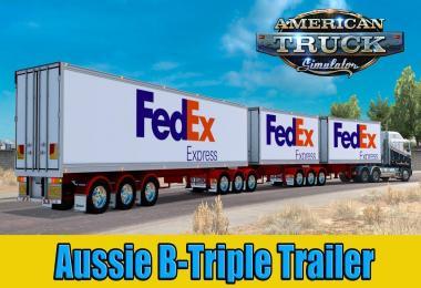 Aussie B-Triple Trailer v1.0