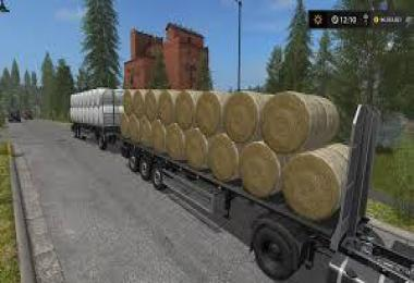 Auto Load Bale trailer- all types of bales!