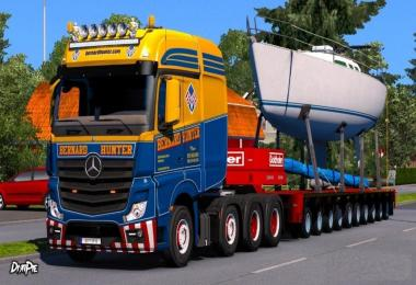 Bernard Hunter Skin for Mercedes-Benz Big Stars Actros