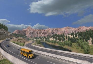 Better Mountain Texture for American Truck Simulator v1.0