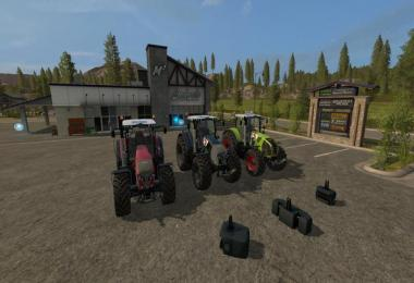 Claas Axion 800 series v2.1