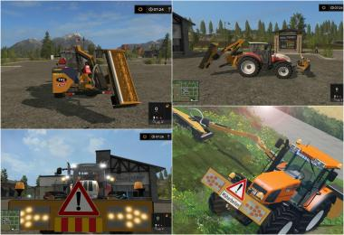 Ferri hydraulic reach mower v1.0