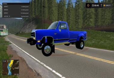FS17 Dodge ram d250 bed v1.0