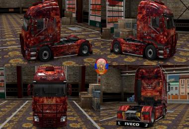 Iveco Hiway Furry Tiger Combo Skin Packs 1.27.2.4s