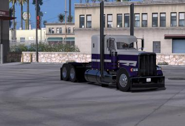 Peterbilt Purple Run Skin