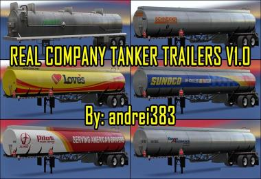 Real Company Tanker Trailers v1.0