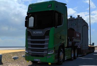 Scania New Generation Better Frame v1.0