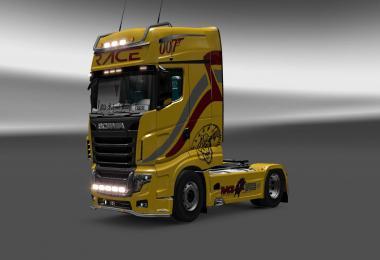 Scania R700 Race skin 1.27