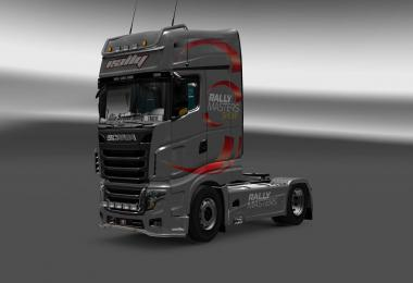 Scania R700 Rally Masters skin 1.27