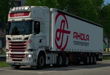 Scania R&S by RJL Ahola Transport Streamline Skin