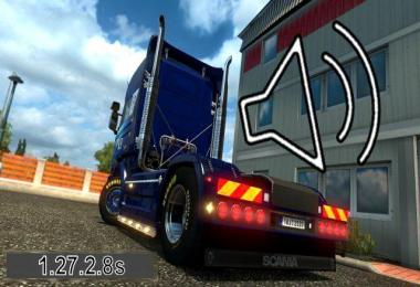 SCANIA R,Streamline V8 Open Exhaust NEWSOUND 1.27.x