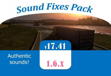 Sound Fixes Pack v17.41 - ATS