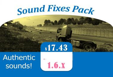 Sound Fixes Pack v17.43 - ATS