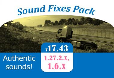 Sound Fixes Pack v17.43