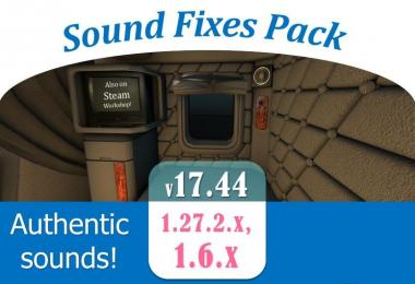 Sound Fixes Pack v17.44