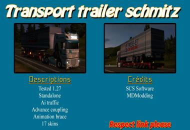 Transport trailer Schmitz 1.27.x