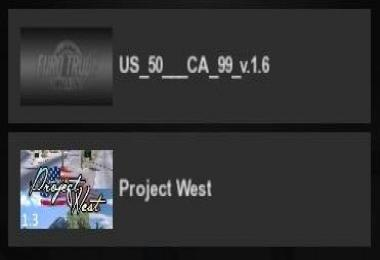 US 50 & CA 99 v1.6 (with Project West 1.3.2)