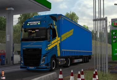 Volvo Fh16 2012 Low deck Beta by PolishDriverTruck