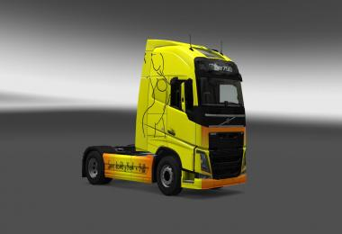 Volvo Fh2012 Route 66 skin Jorgent97