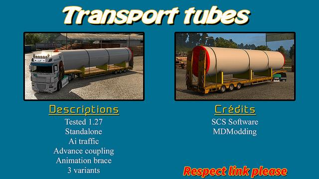 Trailer TRANSPORT TUBES (1.27.x)