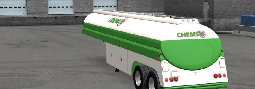 50s Fruehauf Duel Tanker Trailer v1.0