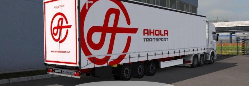 Ahola Transport Fliegl SDS350 Trailer v1.0