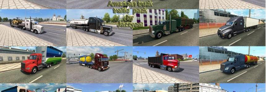 American Truck Traffic Pack by Jazzycat v1.6
