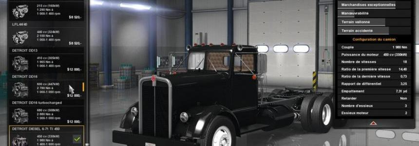 Detroit Diesel Engines for Kenworth 521