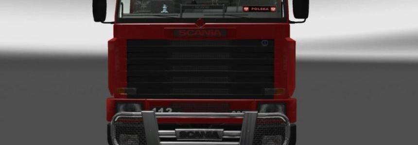 DLC Cabin for Scania 143m v1.0