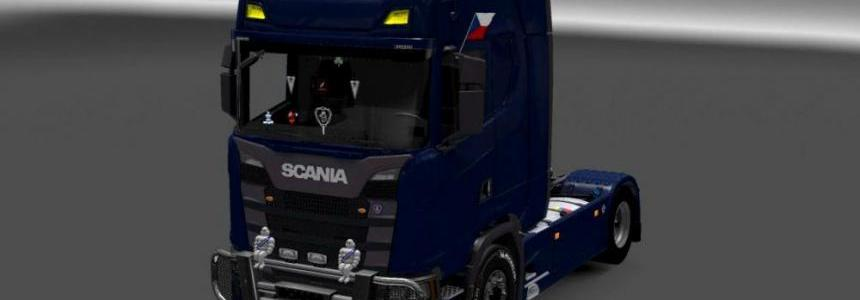 DLC cabin for Scania 730 S 1.27x